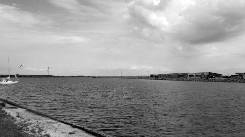 Sea and windmills