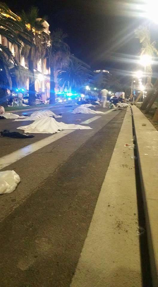 Nice terrorist aftermath