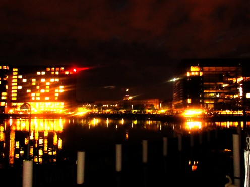 Night time Copenhagen